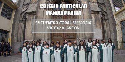 Coro de Voces Blancas en el Homenaje a Víctor Alarcón